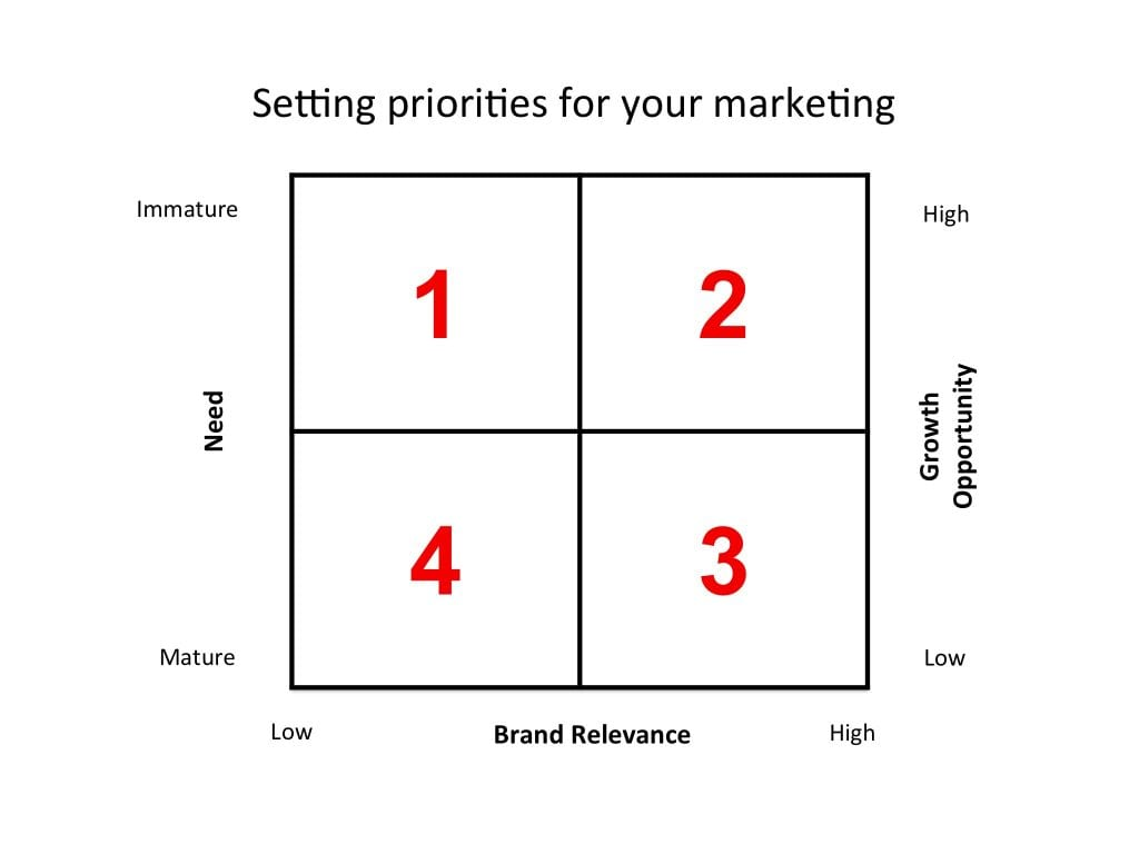 Marketing strategy and priorities in professional services firms