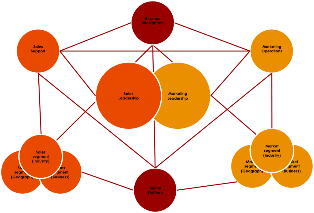 Integrated Professional Services Marketing Structure