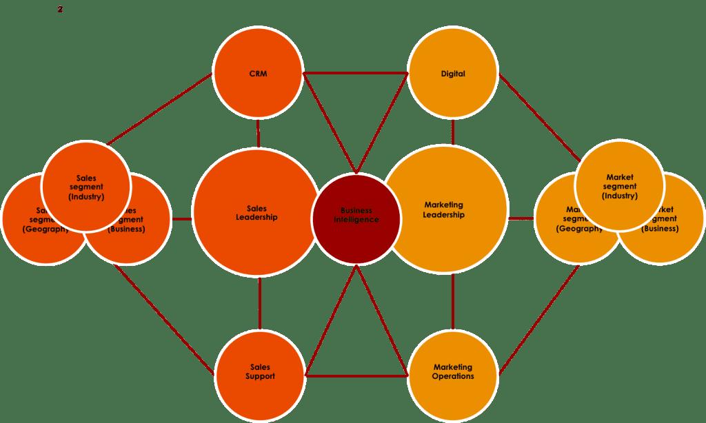 Marketing Org. - Bifurcated Centralized