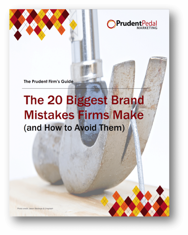 Brand mistakes professional services firms make