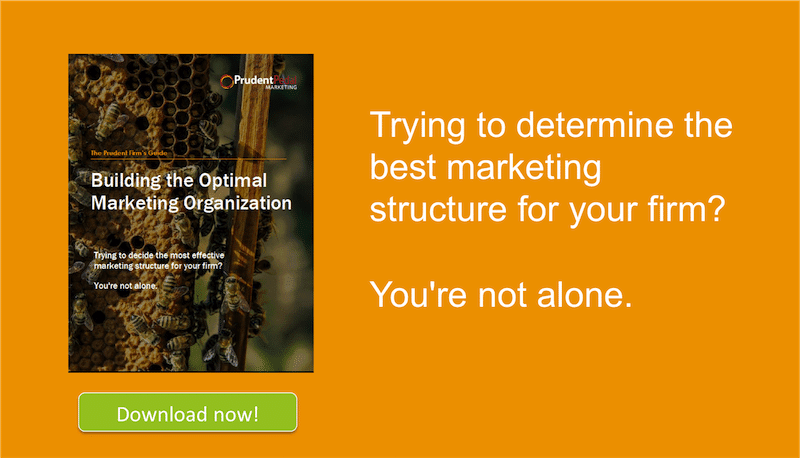 building the optimal marketing organization