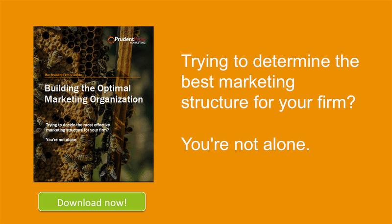 building the optimal marketing organization