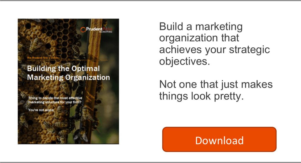 Building Optimal Marketing Org.