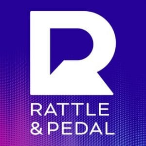 Rattle and Pedal podcast logo