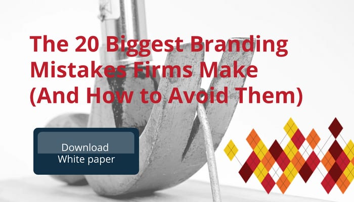 Biggest Brand Mistakes Professional Services