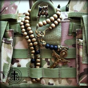 Rugged Rosary Camo Rosary